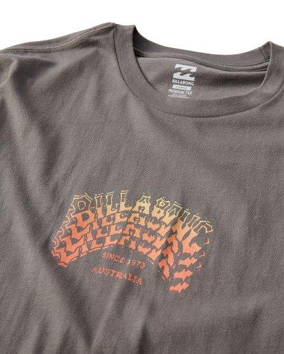 2 Archstack T-Shirt Grey M404VBAS Billabong