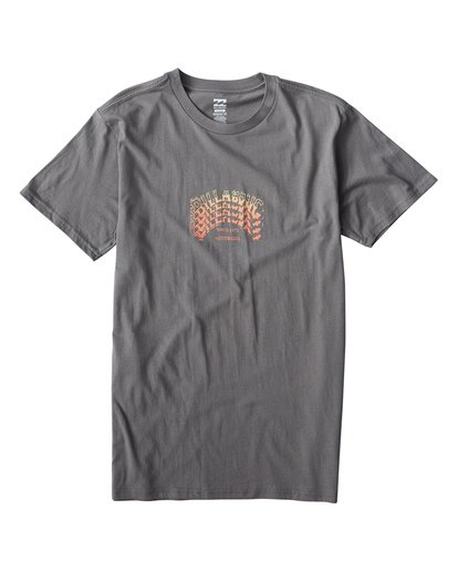 0 Archstack T-Shirt Grey M404VBAS Billabong
