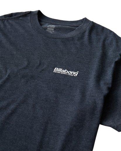 2 Atlantic T-Shirt Blue M404VBAT Billabong