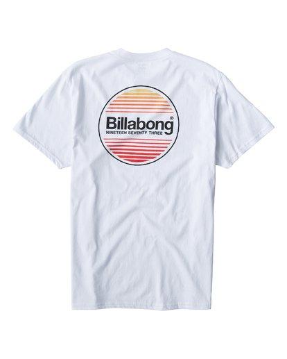 1 Atlantic T-Shirt White M404VBAT Billabong