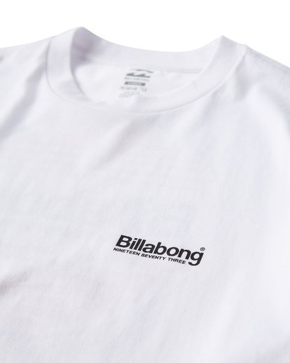 2 Atlantic T-Shirt White M404VBAT Billabong