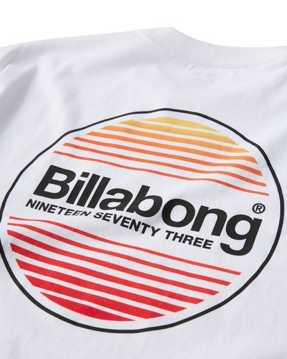 3 Atlantic T-Shirt White M404VBAT Billabong