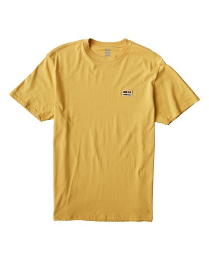 0 Badge T-Shirt Grey M404VBBA Billabong