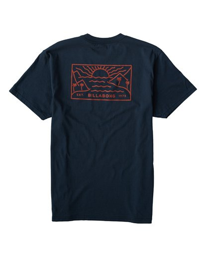 1 Beach Path T-Shirt Blue M404VBBP Billabong