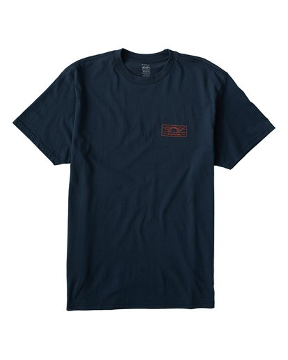 0 Beach Path T-Shirt Blue M404VBBP Billabong