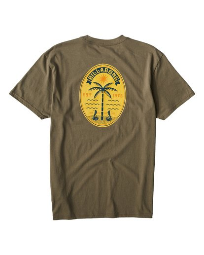 1 Cobra Palm T-Shirt  M404VBCP Billabong