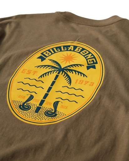 3 Cobra Palm T-Shirt  M404VBCP Billabong