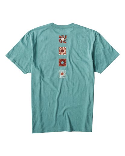 1 Dawn Patrol T-Shirt Blue M404VBDA Billabong