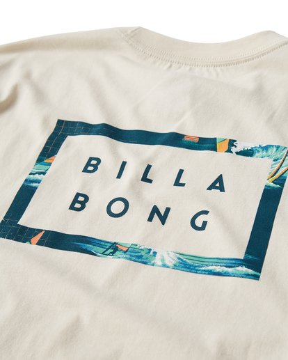 3 Diecut T-Shirt White M404VBDC Billabong