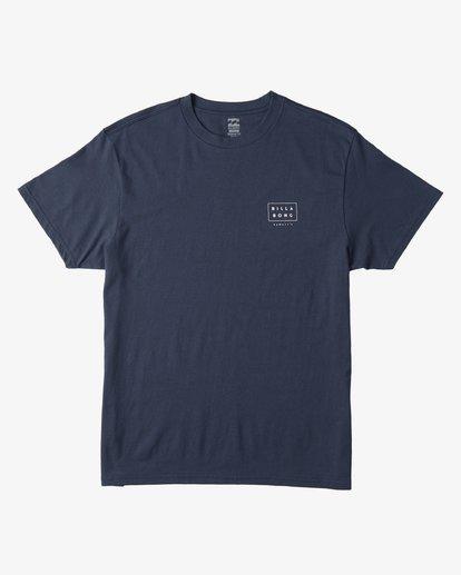 1 Diecut Hawaii T-Shirt Blue M404VBDE Billabong