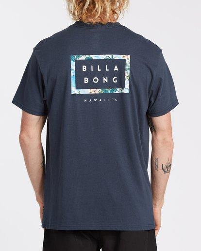 2 Diecut Hawaii T-Shirt Blue M404VBDE Billabong