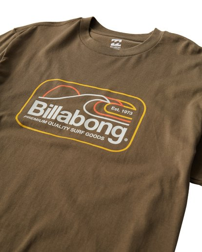 2 Dive T-Shirt Green M404VBDI Billabong