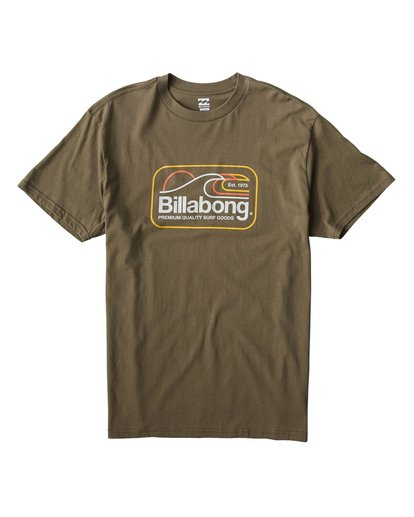 0 Dive T-Shirt Green M404VBDI Billabong