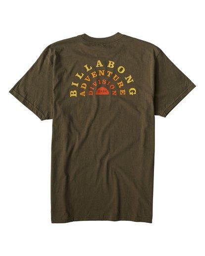 1 Del Sol T-Shirt Green M404VBDS Billabong