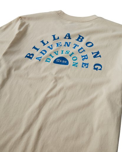 3 Del Sol T-Shirt White M404VBDS Billabong
