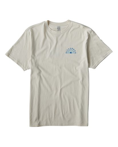 0 Del Sol T-Shirt White M404VBDS Billabong