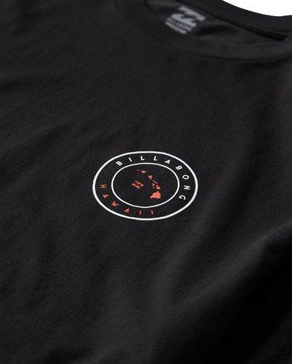 2 Rotor Hawaii T-Shirt Black M404VBHW Billabong