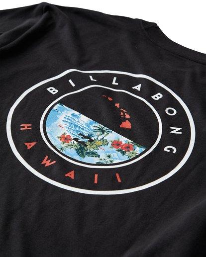 3 Rotor Hawaii T-Shirt Black M404VBHW Billabong