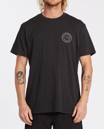 0 Rotor Hawaii T-Shirt Black M404VBHW Billabong