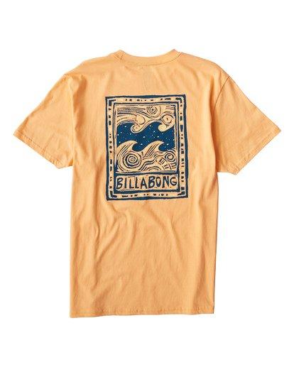 1 Icon T-Shirt Orange M404VBIC Billabong
