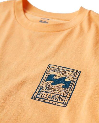 2 Icon T-Shirt Orange M404VBIC Billabong
