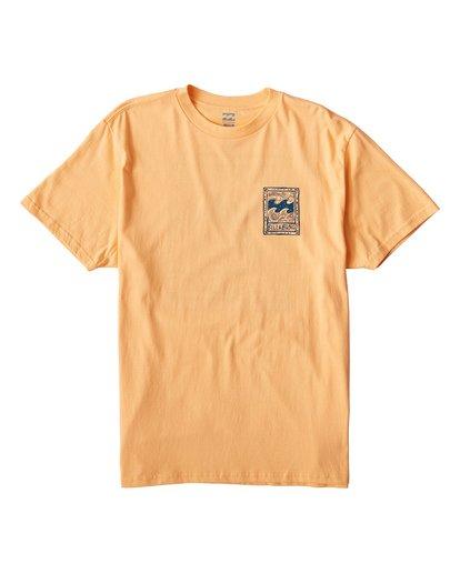 0 Icon T-Shirt Orange M404VBIC Billabong