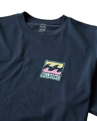 2 Icon T-Shirt Blue M404VBIC Billabong