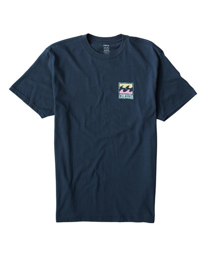 0 Icon T-Shirt Blue M404VBIC Billabong