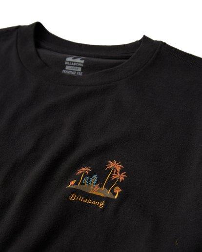 2 Islands T-Shirt Black M404VBIS Billabong