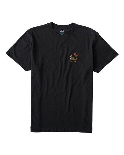 0 Islands T-Shirt Black M404VBIS Billabong
