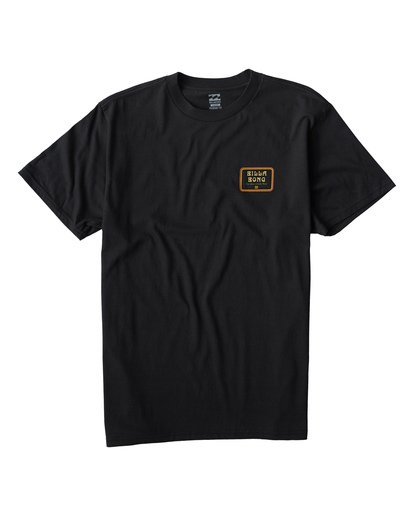 0 Lagoon T-Shirt Black M404VBLA Billabong