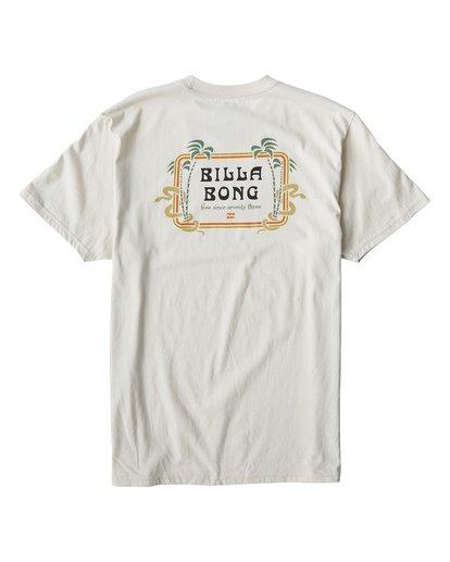1 Lagoon T-Shirt White M404VBLA Billabong