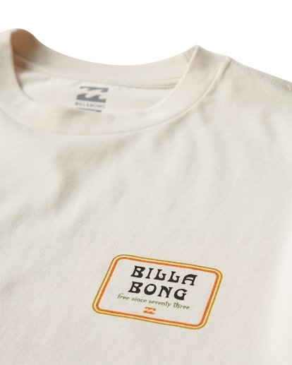 2 Lagoon T-Shirt White M404VBLA Billabong