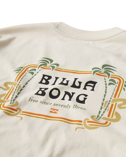 3 Lagoon T-Shirt White M404VBLA Billabong