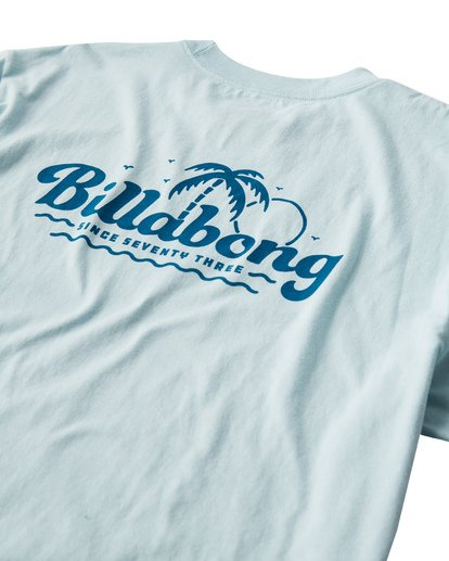 3 Lounge T-Shirt Blue M404VBLO Billabong