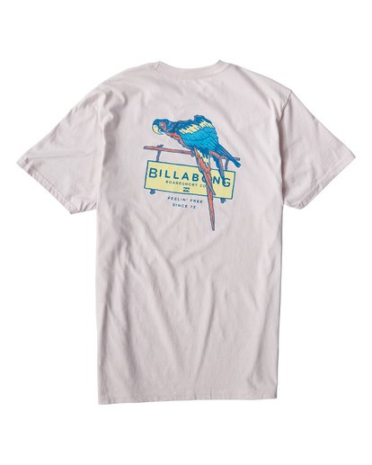 1 Macaw T-Shirt Purple M404VBMW Billabong