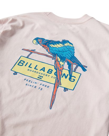 3 Macaw T-Shirt Purple M404VBMW Billabong