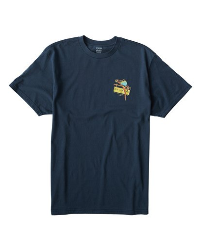 0 Macaw T-Shirt Blue M404VBMW Billabong