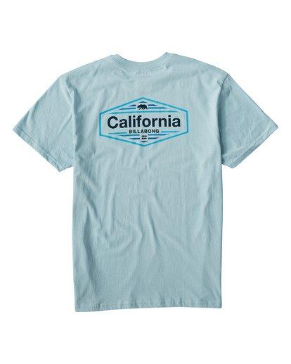 1 National T-Shirt Blue M404VBNA Billabong
