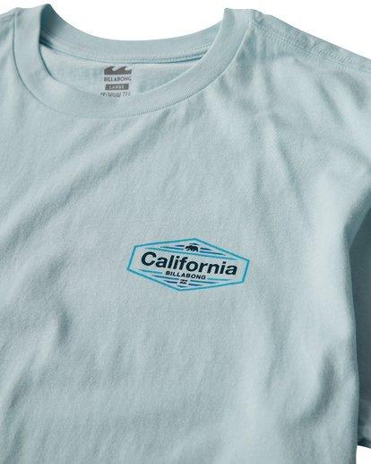 2 National T-Shirt Blue M404VBNA Billabong