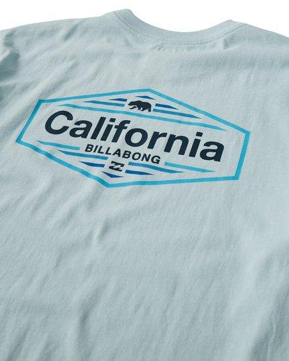 3 National T-Shirt Blue M404VBNA Billabong