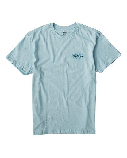 0 National T-Shirt Blue M404VBNA Billabong
