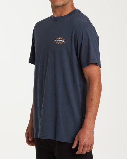 1 National T-Shirt Blue M404VBNA Billabong