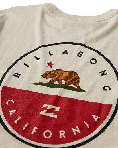 3 Native Cali T-Shirt White M404VBNC Billabong
