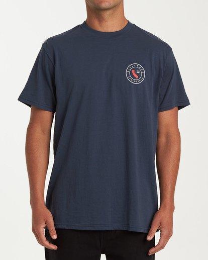 0 Native Cali T-Shirt Blue M404VBNC Billabong