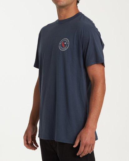 1 Native Cali T-Shirt Blue M404VBNC Billabong