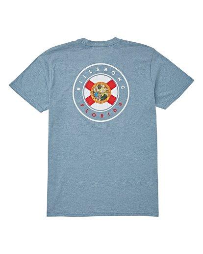1 Native Florida T-Shirt Blue M404VBNF Billabong