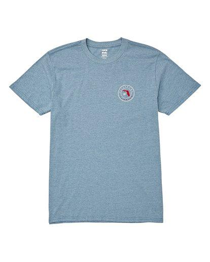 0 Native Florida T-Shirt Blue M404VBNF Billabong
