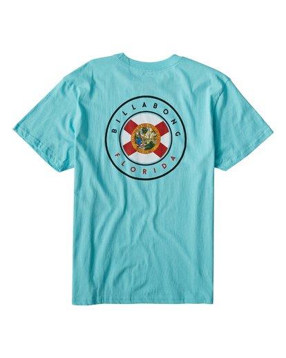 1 Native Florida T-Shirt Grey M404VBNF Billabong