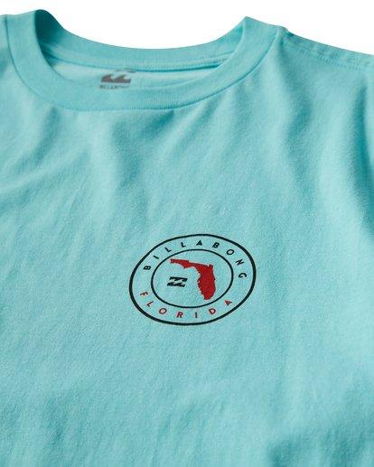 2 Native Florida T-Shirt Grey M404VBNF Billabong
